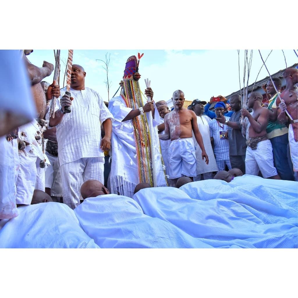 Cultural Heritage Of The Yorubas Olojo Festival & The City Of 201 Gods