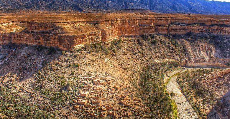 Ghoufi Balconies Or Canyon Batna Algeria' A Earthly Heaven