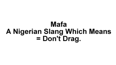 Mafa Mafa Meaning, Origin, When & How To Use The Slang