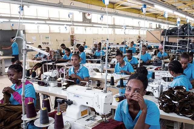 Apparel Industry is Lesotho's Top Export Product In The Country