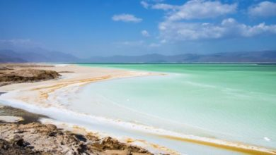 Lake Assal in Djibouti' The World's Largest Salt Reserve