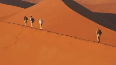 The World's Oldest Desert' Namib Desert in Namibia