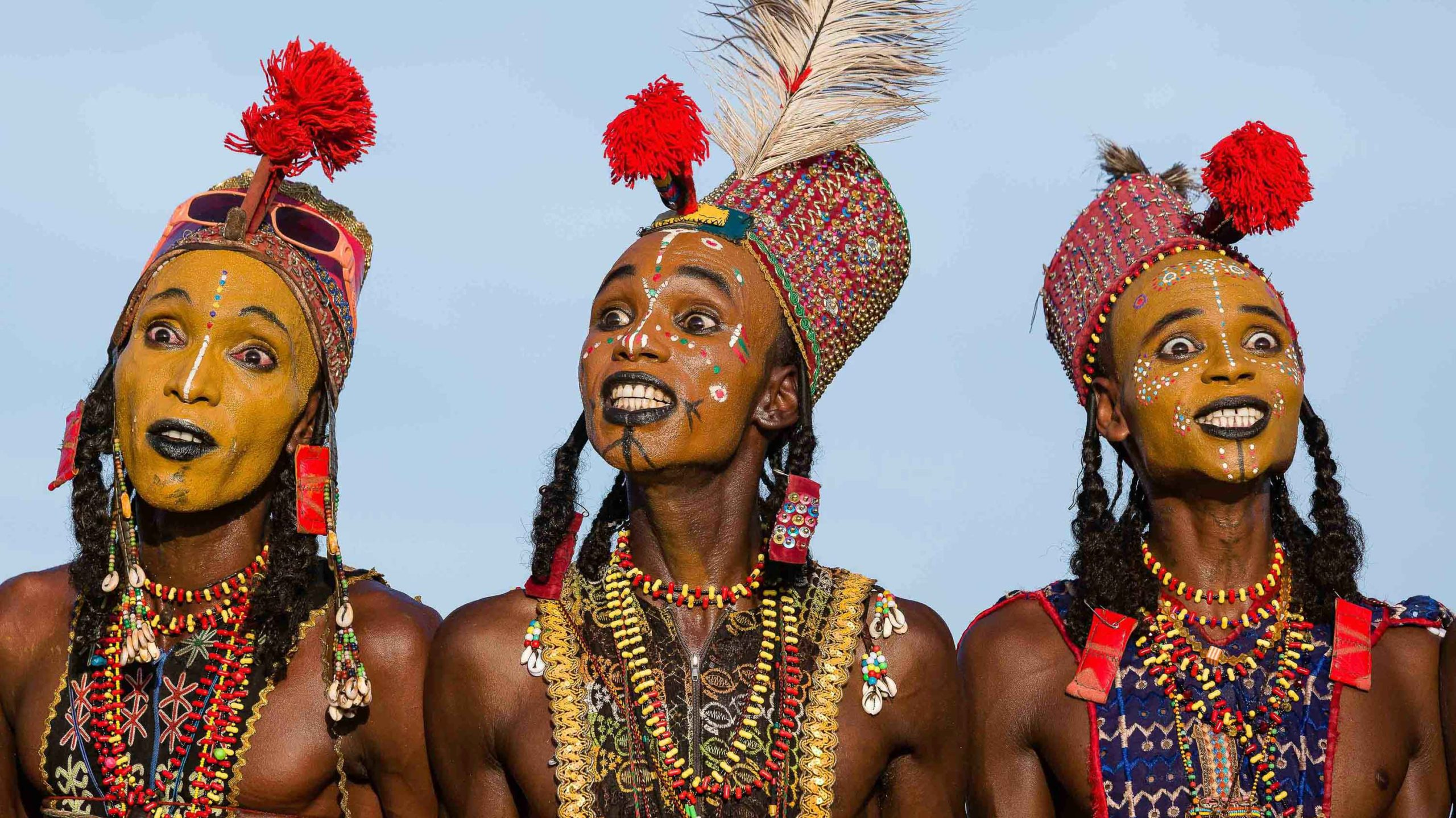 Gerewol Festival' The Wife-Stealing Festival Of The Wodaabe Tribe