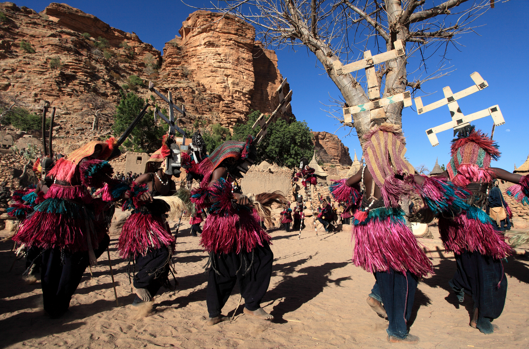 Dogon tribe of Mali' One People, Many Mysteries - Africa Facts Zone