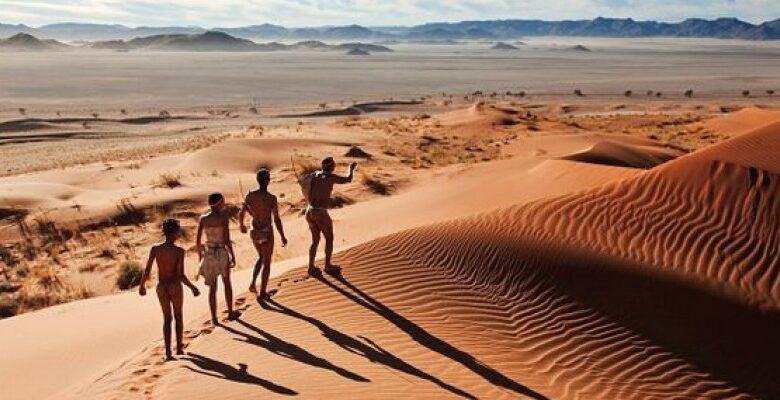 "The Kalahari Desert' ""The Great Thirst"" of Africa - Africa Facts Zone"