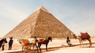 The Great Pyramid of Giza: Facts on the Great Pyramid of Giza
