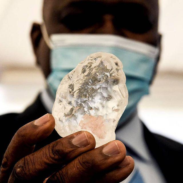Botswana Unearths Third Largest Diamond of the World